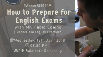 Semarang: How To Prepare for English Exams