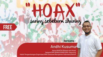 Batam: Hoax – Saring Sebelum Sharing