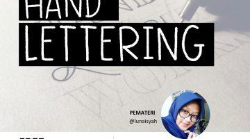 Jember: Hand Lettering