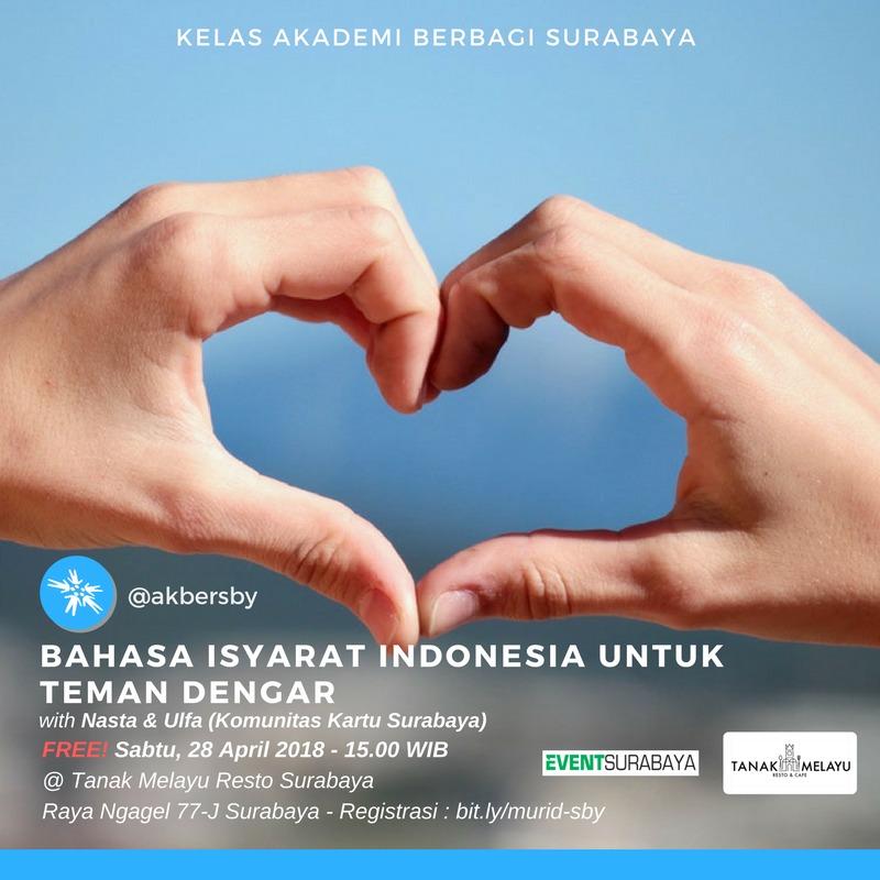 Surabaya: Bahasa Isyarat Indonesia untuk Teman Dengar
