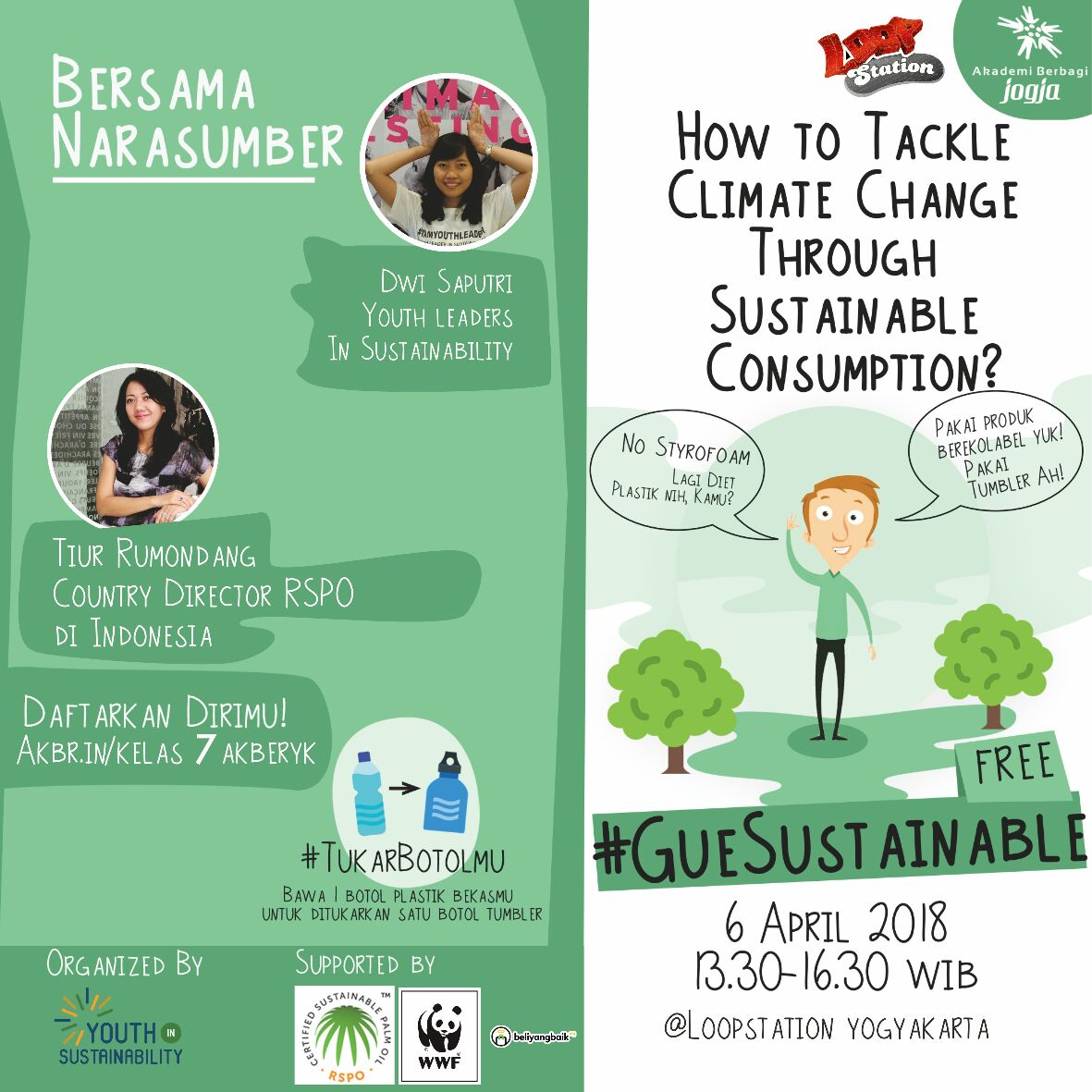 Jogja: How To Tackle Climate Change Through Sustainable Consumption