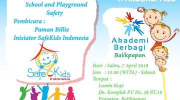 Balikpapan: Child Safety 101 – School and Playground Safety