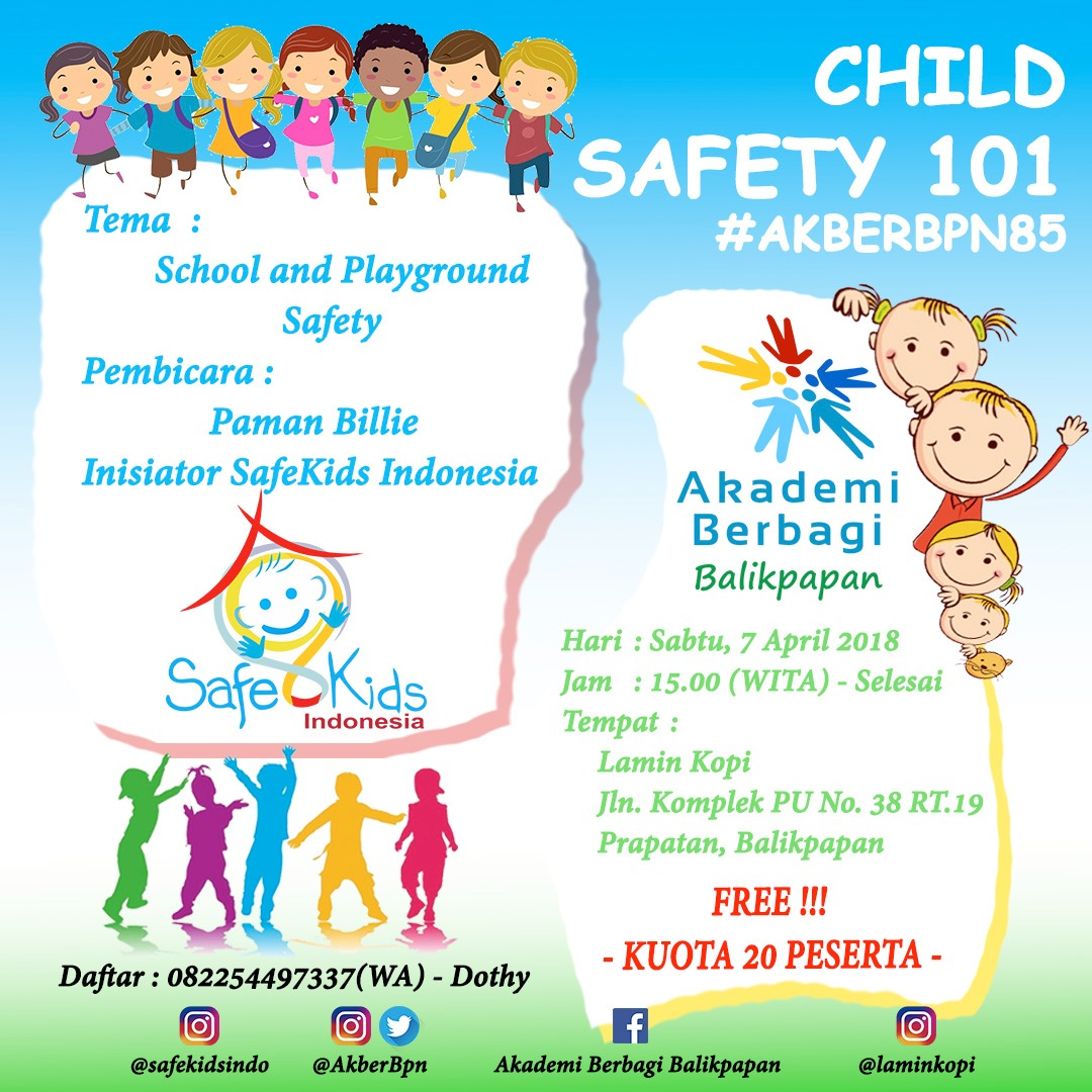 Balikpapan: Child Safety 101 – School and Playground Safety