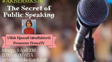 Makassar: The Secret of Public Speaking