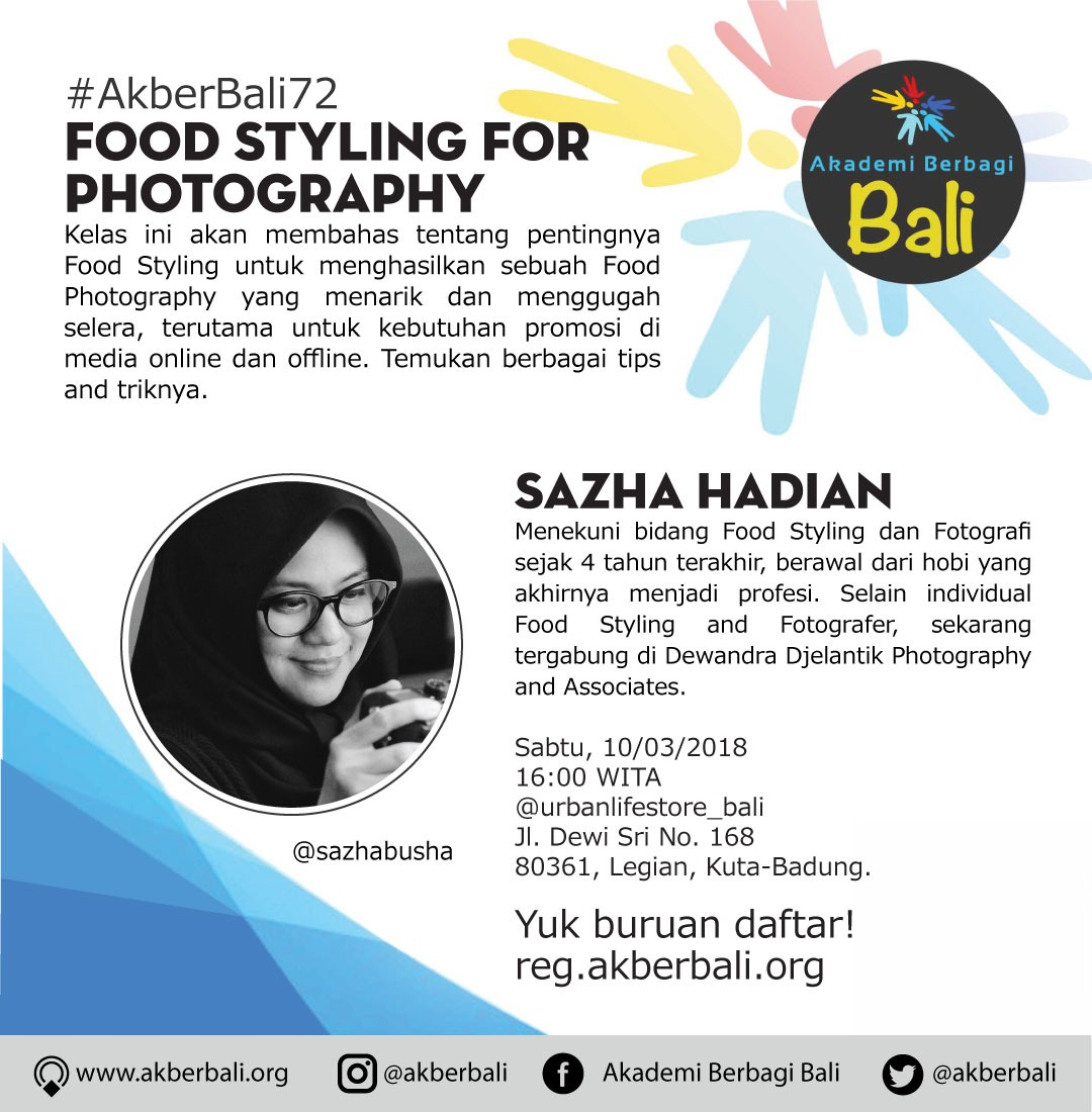Bali: Food Styling for Photography