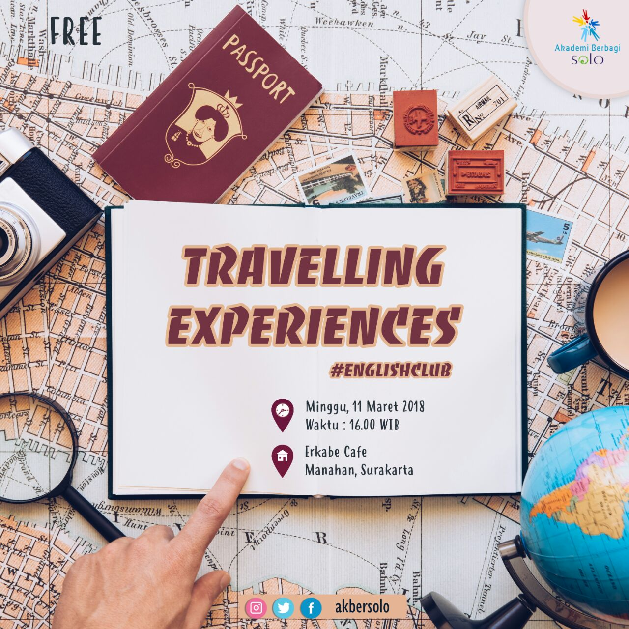 Solo: #EnglishClub – Travelling Experiences