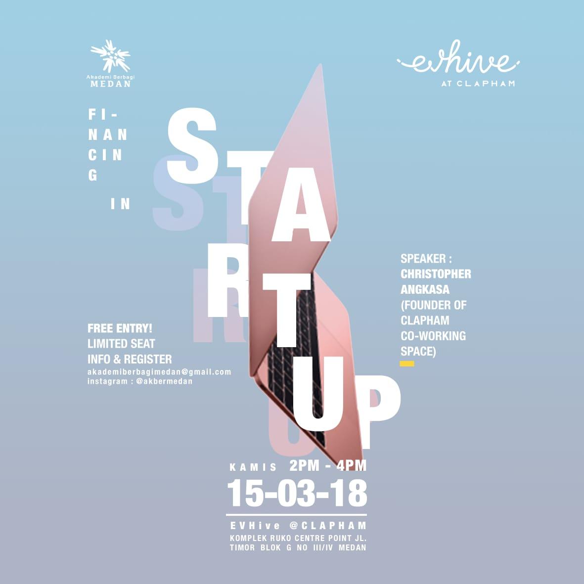 Medan: Financing Startup