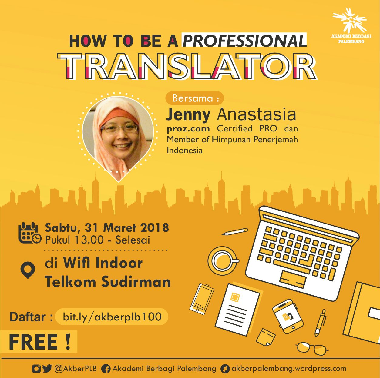 Palembang: How To Be A Professional Translator