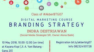 Batang: Branding Strategy