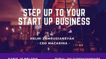 Jember: Step Up To Your Start Up Business
