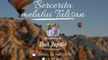 Semarang: Bercerita Melalui Tulisan