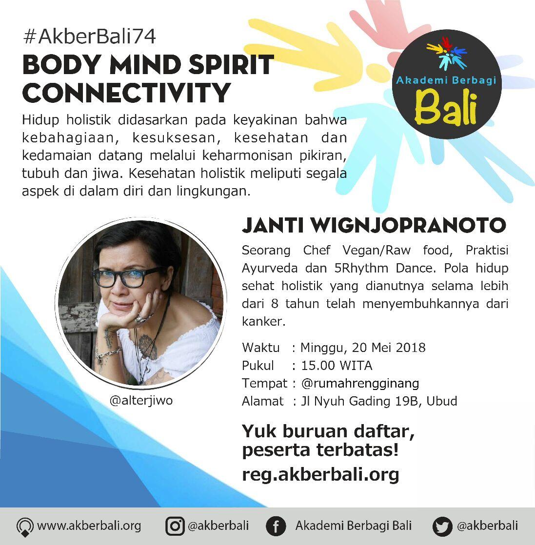 Bali: Body Mind Spirit Connectivity