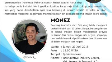 Bali : Creative Industry in Digital Era