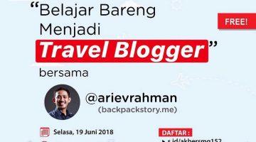 Semarang : Belajar Bareng Menjadi Travel Blogger
