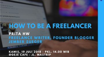 Jember : How To Be a Freelancer