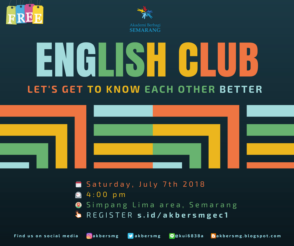 Semarang: English Club