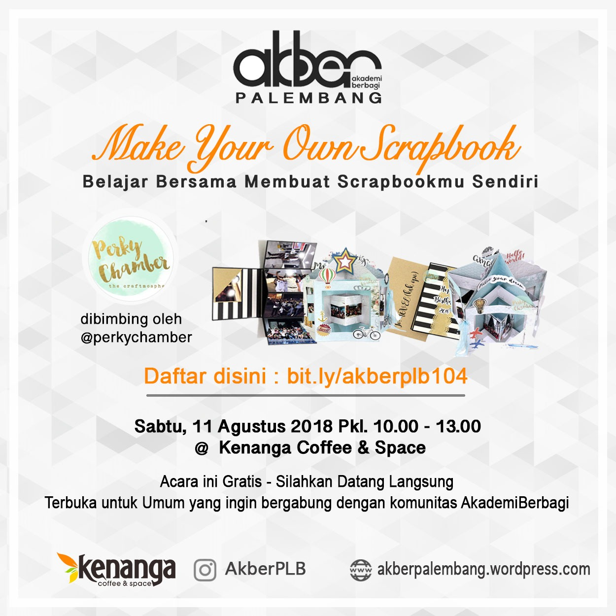 Palembang: Make Your Own Scrapbook