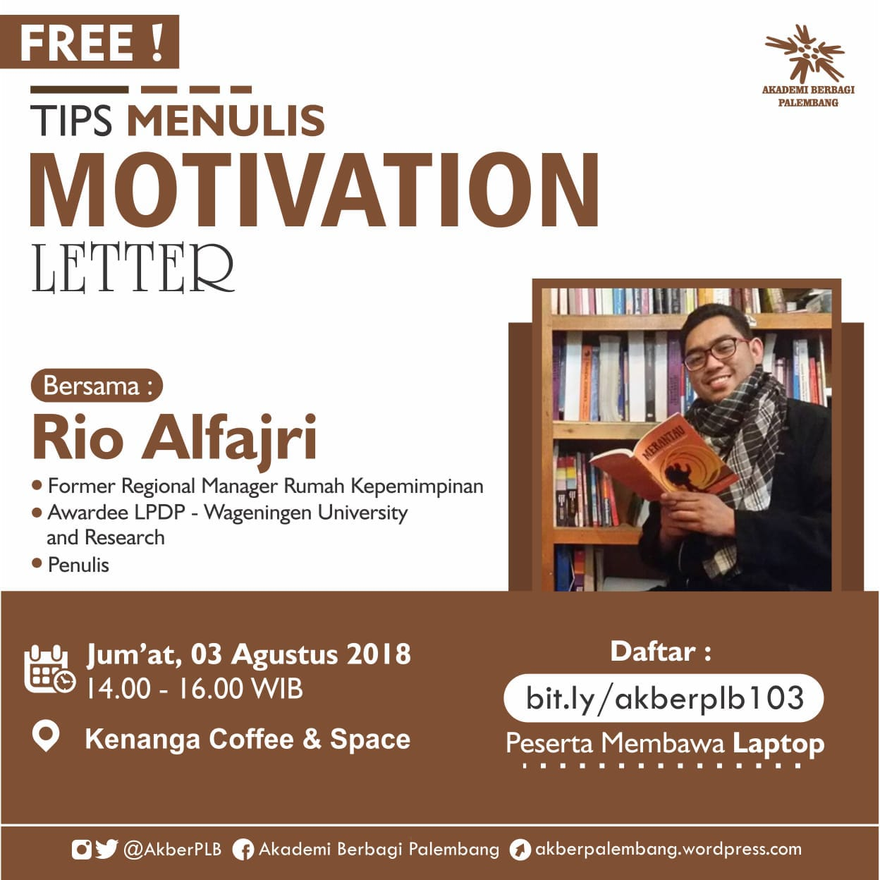 Palembang . : Tips Menulis Motivation Letter