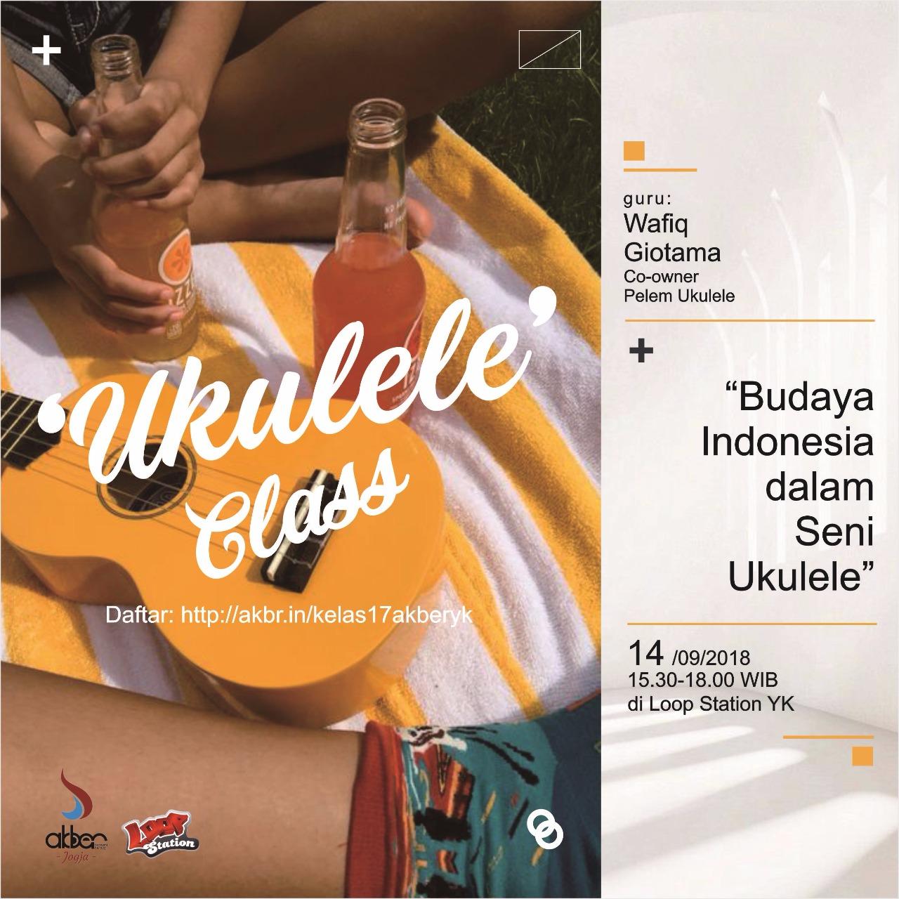 Jogja: Budaya Indonesia dalam Seni Ukulele