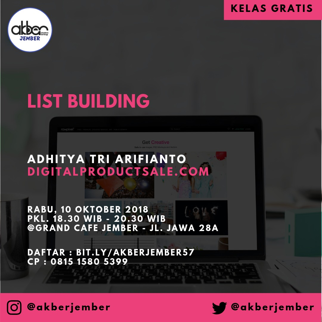 Jember: List Building