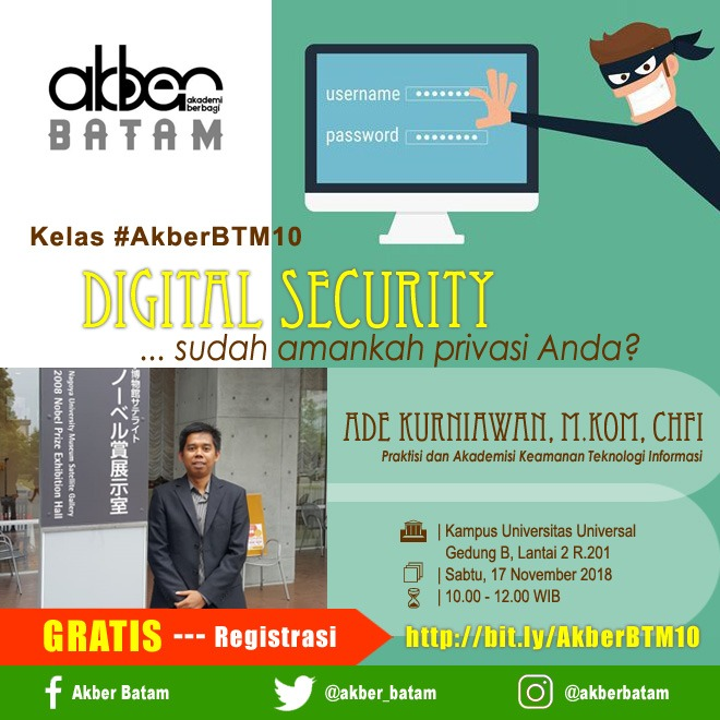 Batam: Digital Security