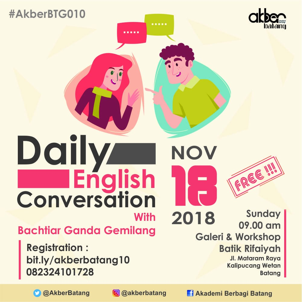 Batang: Daily English Conversation