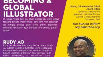 Bali : Becoming a Global Illustrator