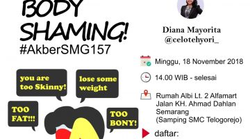 Semarang: Stop Body Shaming!