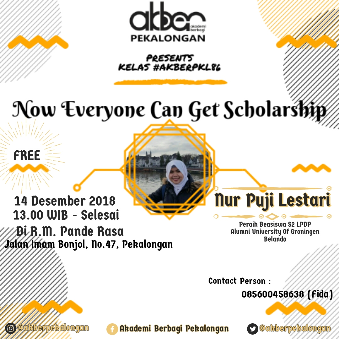 Pekalongan: Scholarship