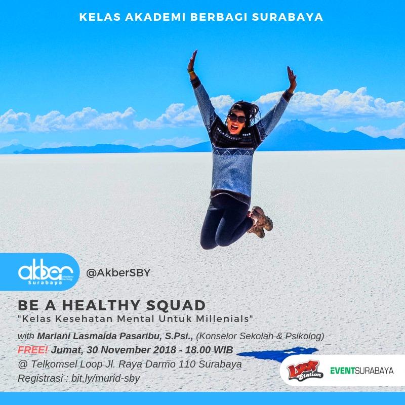 Surabaya: Be a Healthy Squad