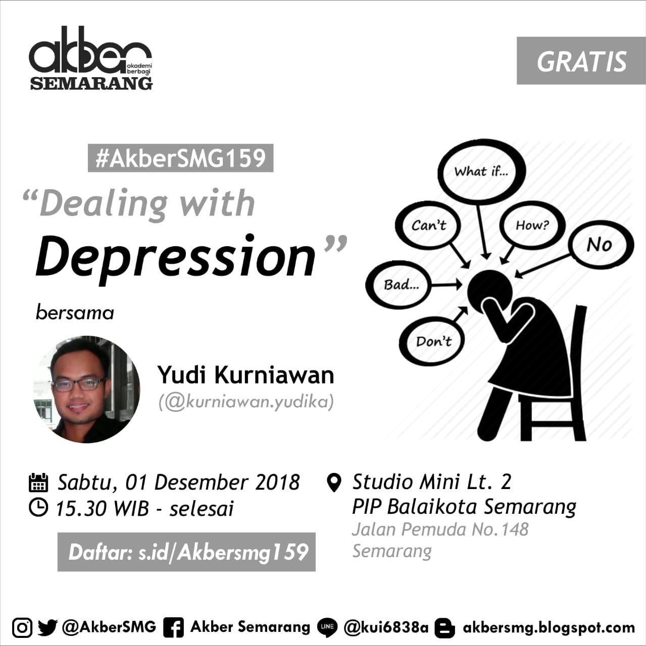 Semarang: Dealing With Depression