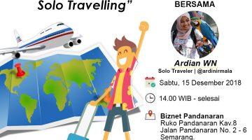 Semarang: Refleksikan diri dengan Solo Travelling