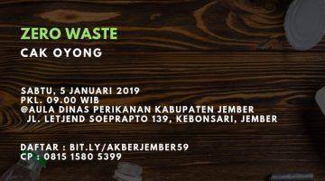 Jember: Zero Waste
