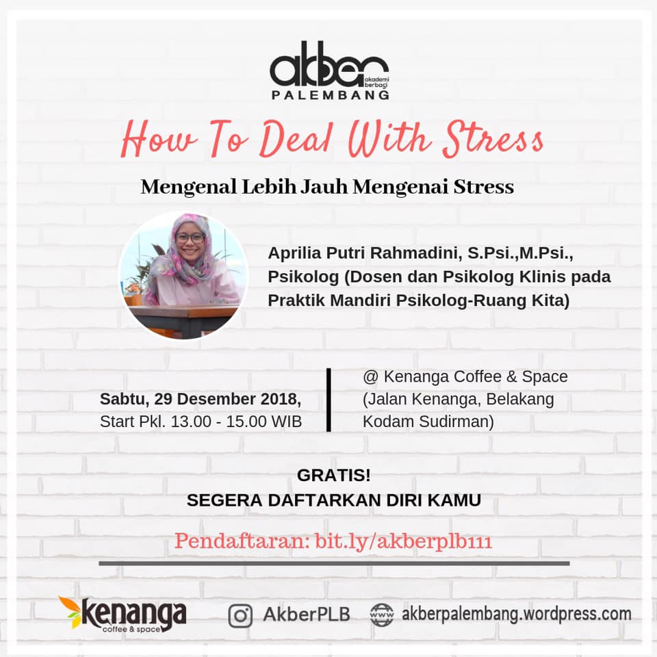 Palembang: How To Deal With Stress