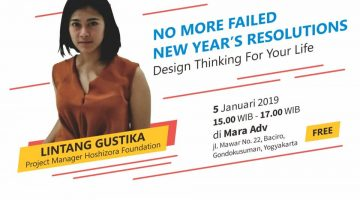 Jogja: No More Failed New Year's Resolutions