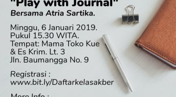 Makassar: Play With Journal