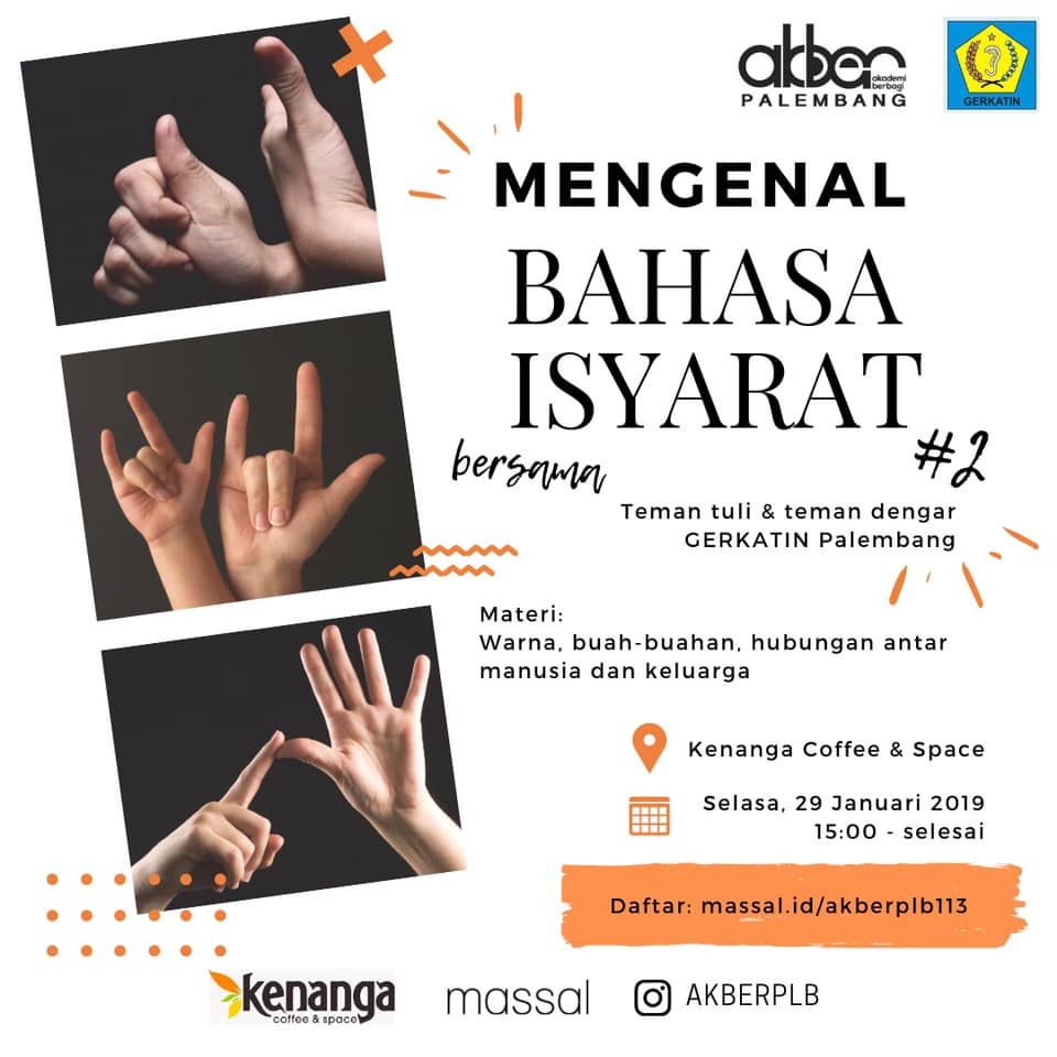 Palembang: Mengenal Bahasa Isyarat (2)