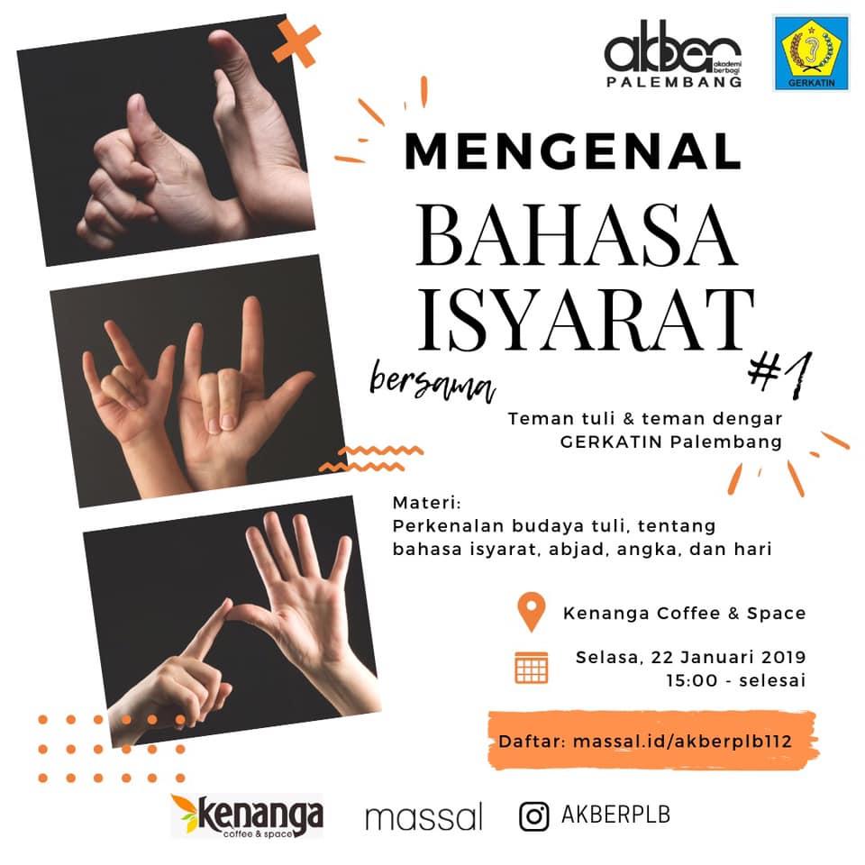 Palembang: Mengenal Bahasa Isyarat (1)