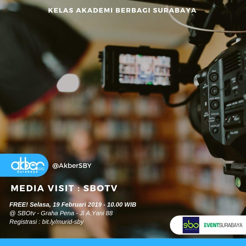 Surabaya: Media Visit SBOtv