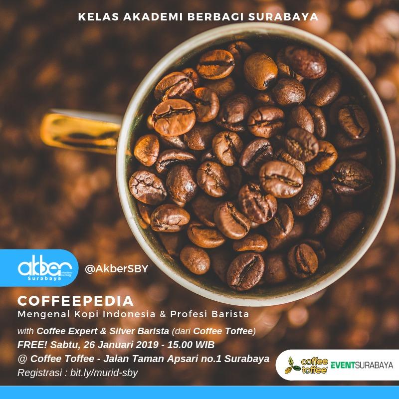 Surabaya: Mengenal Kopi Indonesia & Profesi Barista
