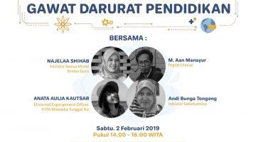 Makassar: Inovasi Menghadapi Gawat Darurat Pendidikan