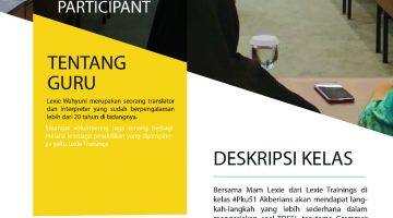 Pekanbaru: Grammar Enteng Buat TOEFL Participant
