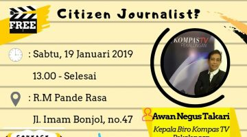 Pekalongan: How To Be a Good Citizen Journalist