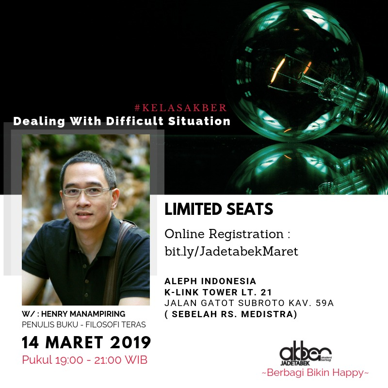 Jadetabek: Dealing with Difficult Situation