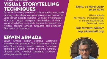 Bali: Visual Storytelling Techniques