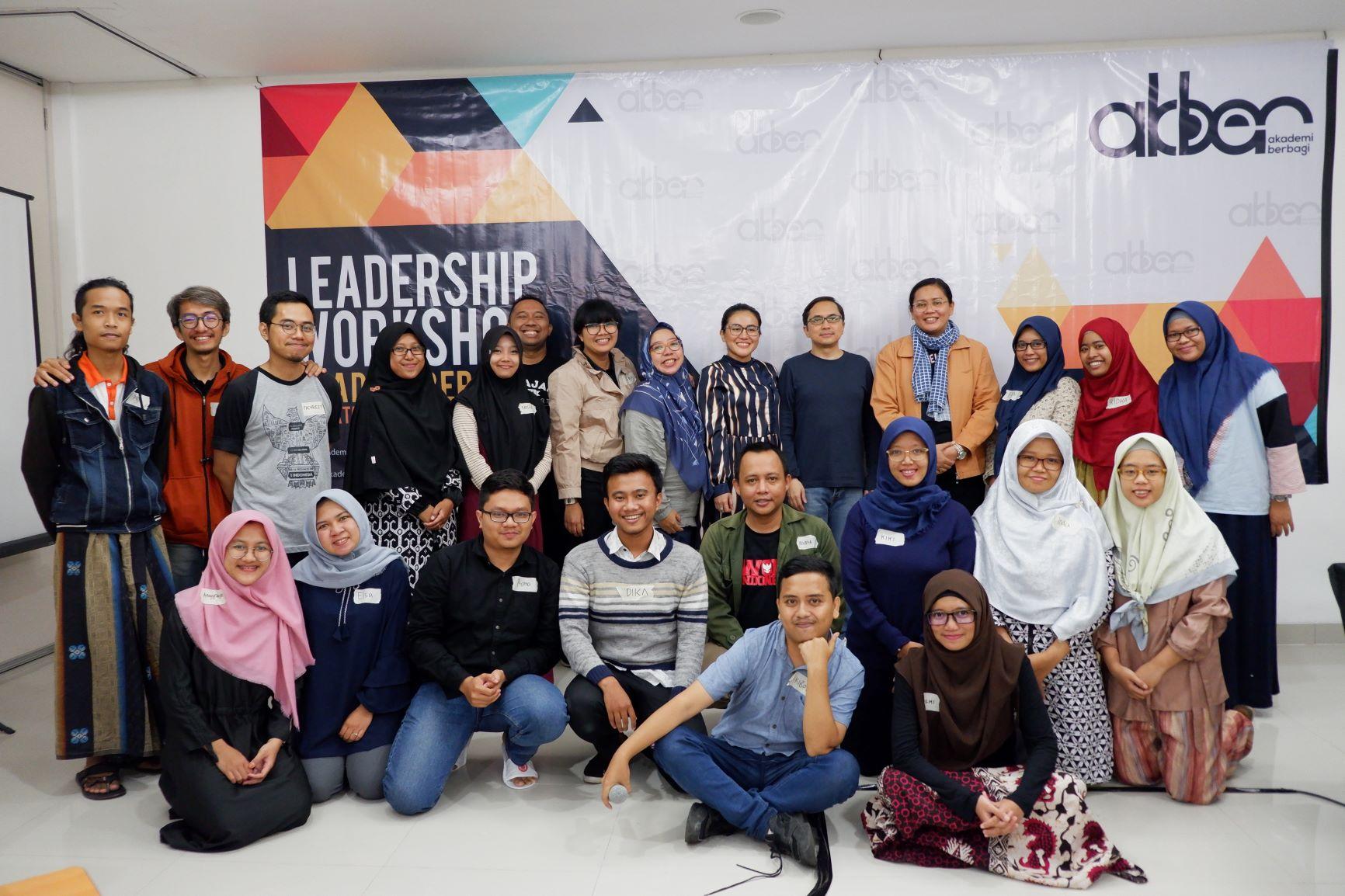 Akademi Berbagi Leadership Workshop dari Kacamata MC Kelas Teri