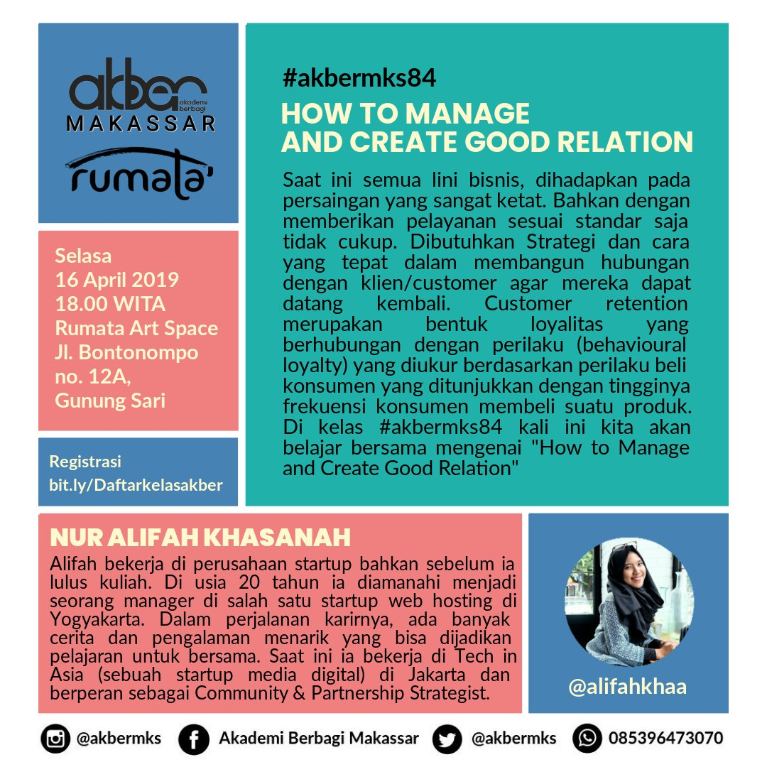 Makassar: How to Manage and Create Good Relation