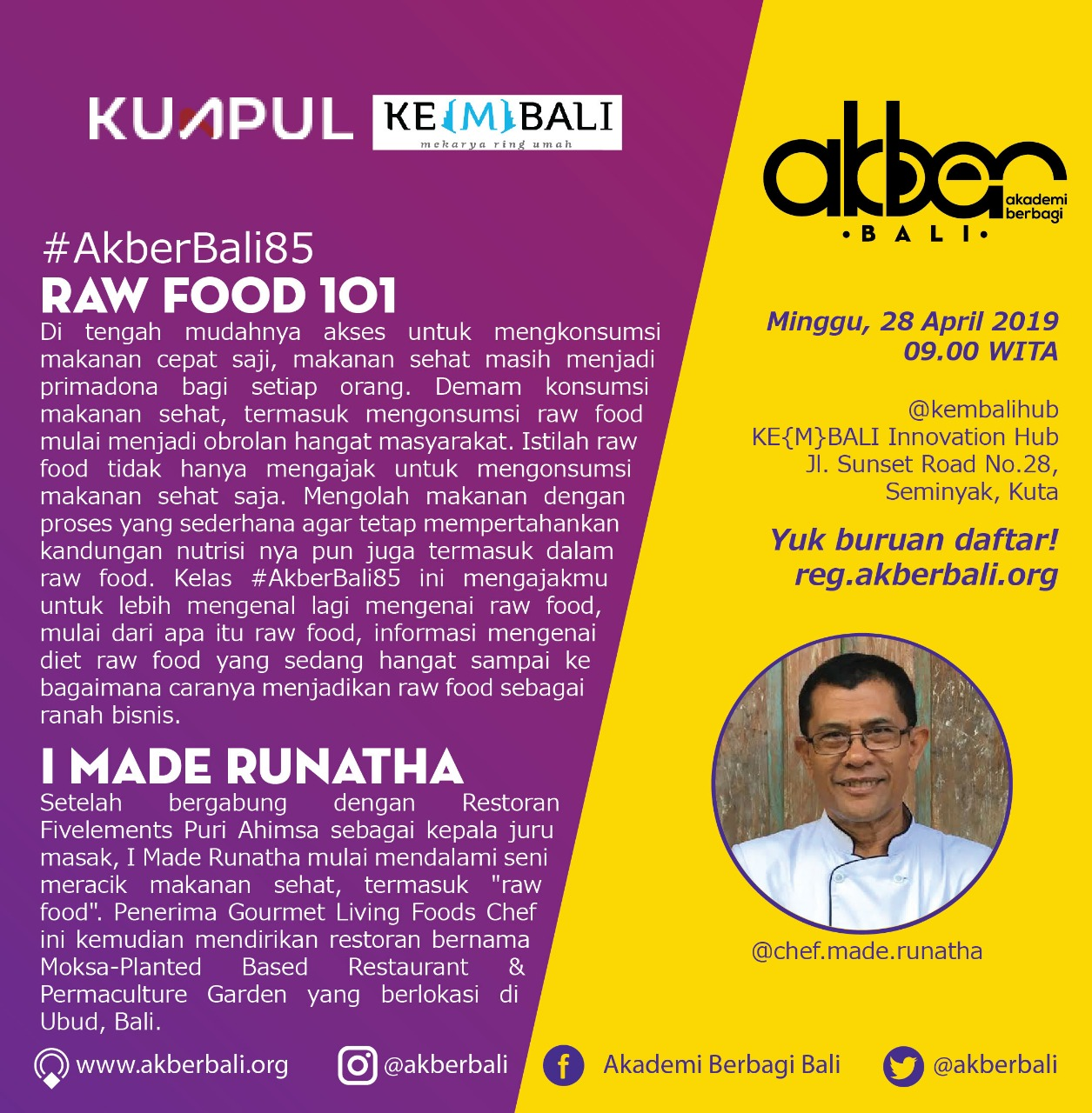 Bali: Raw Food 101