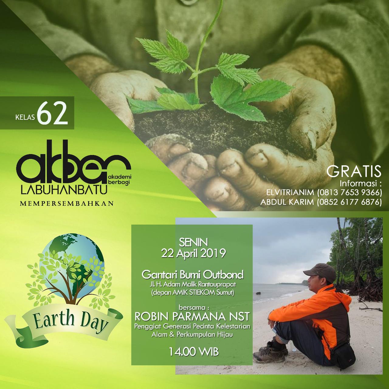 Labuhanbatu: Earth Day