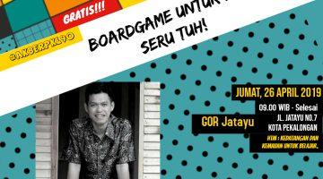 Pekalongan: Boardgame untuk Literasi, Seru Tuh!